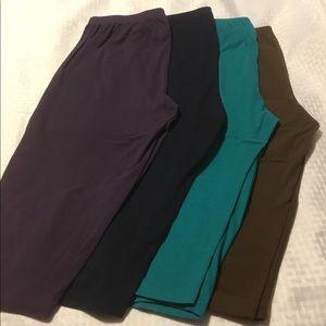 Blair Pants - Bundle of 4 Super Comfortable Pedal Pushers